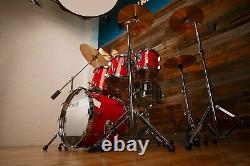 Sonor Horst Signature Lien Lourd Beech Drum Kit, 5 Pièces, Tornado Red Pré-aimé