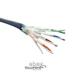 Swamp Câble Réseau Stp Cat5e Ethernet Lourd Rj45 100m Rouleau