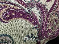 Tache 6 Pièces Exotique Floral Paisley Paisley Lourment Jacquard Jacquard