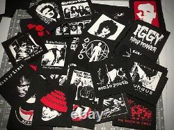 Un De Chaque Patch Lot Punk Goth Psych Industriel Garage Heavy Metal New Wave