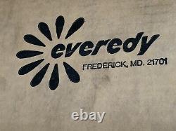 Vintage Everedy 7 Piece Set Homemakers Vert D'avocat Batterie De Cuisine USA Heavy Duty Nos