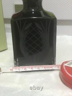 Vintage Penhaligons Crystal Elixir Bouteille D'huile De Bain Heavy Duty Boîte Rare Piece