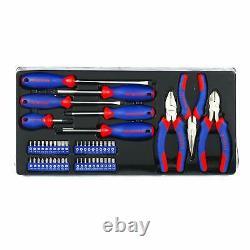 Workpro W009044a 408-piece Set D'outils De Mécanique Avec 3 Tiroirs En Métal Lourd