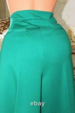 (rl 2) Boden Vert Lourd Élastiquée Pantalon Et Veste 2 Piece Taille Suit Uk 18r